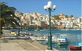Sitia: Port and town